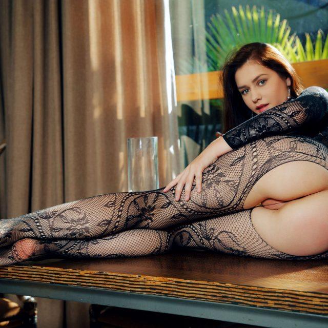 Kacy Lane Nude In Bodystocking MetArt Model Photos